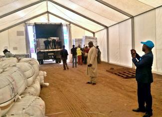 Humanitarian Logistics in DRC, Humanitarian Cargo Transportation in DRC, Emergency Logistsics in DRC,