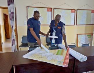 Maps DR Congo