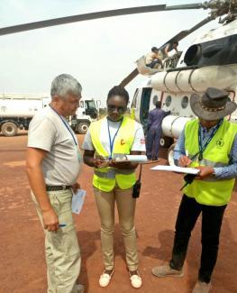 Humanitarian Logistics Coordination in South Sudan