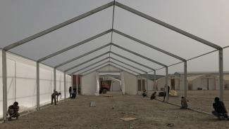 MSU set up at training in Yemen