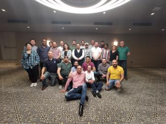 Port training participants in Mersin