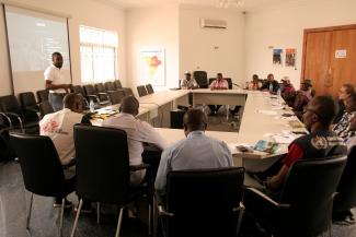 humanitarian coordination, training
