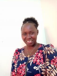 Ritah Gire, participant from Finn Church Aid