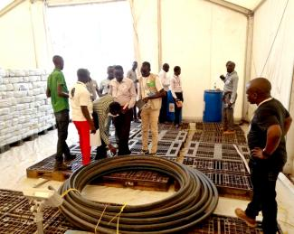 Humanitarian Cargo Storage in South Sudan