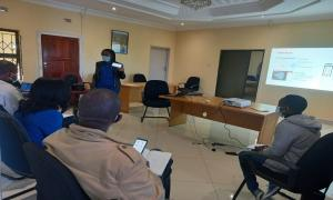 Meeting with WFP Masvingo Cooperating partners to introduce the Physical Access Constraints reporting and mapping tool