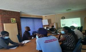 Meeting with WFP Mutare Cooperating partners to introduce the Physical Access Constraints reporting and mapping tool