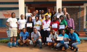 Media Image : Basic Humanitarian Logistics course in Bangui March 2020