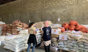 Media Image : Logistics Cluster warehouse in Addis Ababa