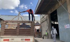 Media Image : Logistics Cluster warehouse in Addis Ababa 2