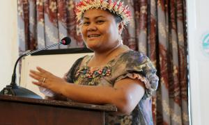 Media Image : FSM country overview at Logistics Cluster Sub-Regional Workshop (Micronesia)