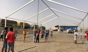 Media Image : MSUs at border regions Djibouti to serve as COVID-19 screening centres and waiting areas for truck drivers_4