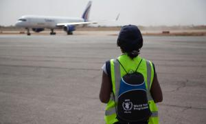 Media Image : Medical supplies to protect against COVID19 unloaded in Ouagadougou