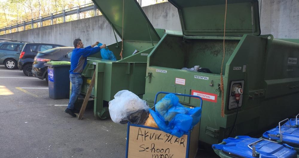 Gooi jij je afval in de juiste bak?