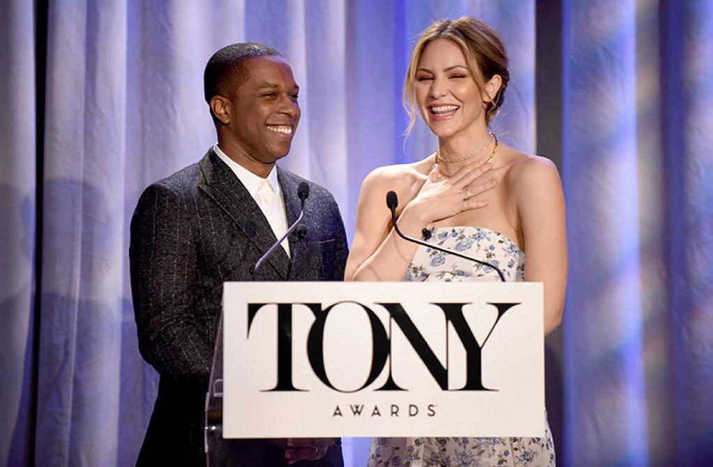 Tony Nominations 2018 – Leslie Odom Jr. and Katharine McPhee