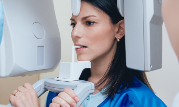 Digitales Röntgen beim Zahnarzt