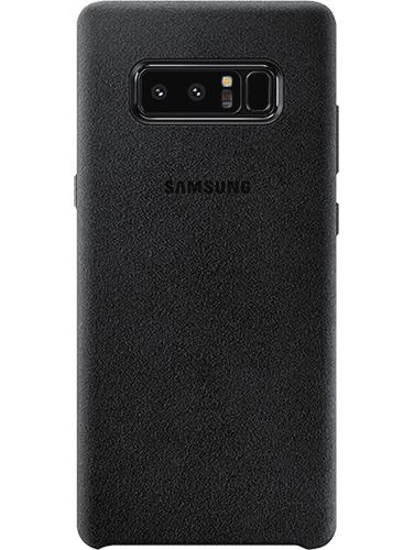 Alcantara Galaxy Note 8 Svart