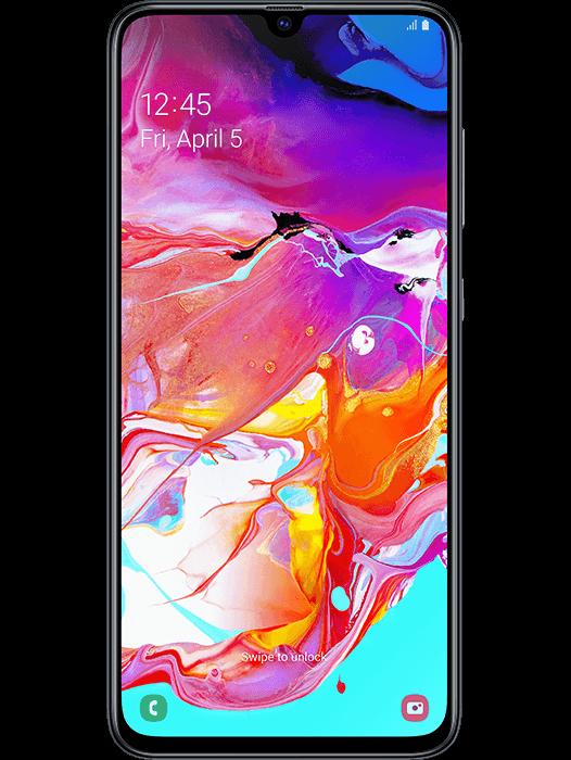 Galaxy A70 Svart