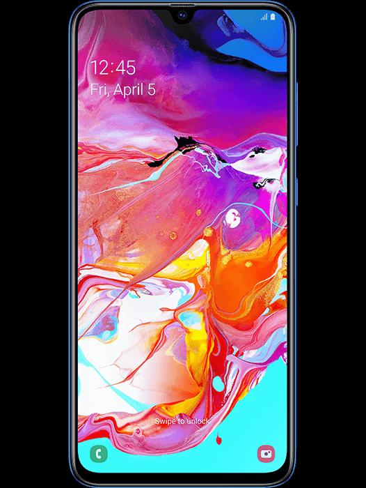 Galaxy A70 Blå