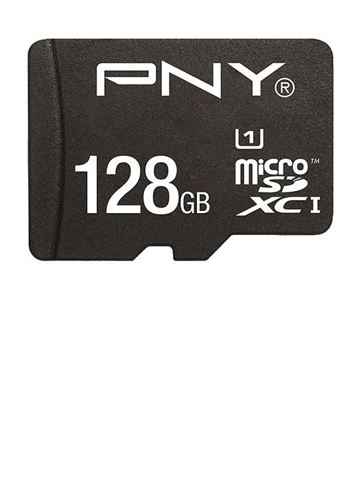 MicroSD med adapter 128GB