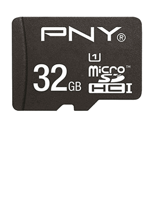 MicroSD m/adapter 32GB Svart