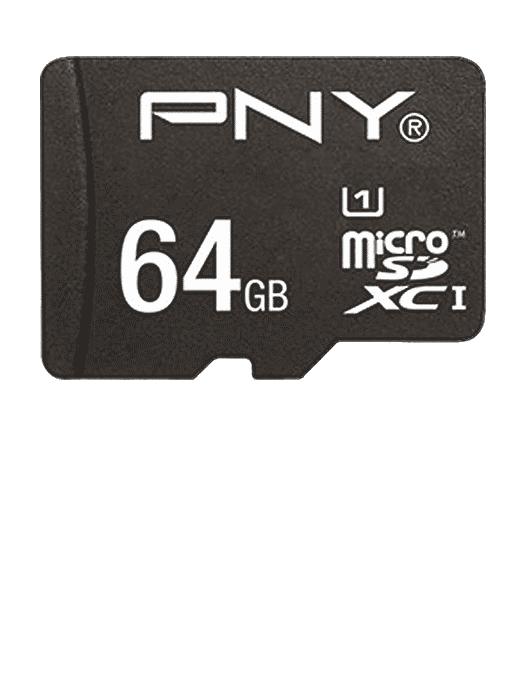 MicroSD med adapter 64GB