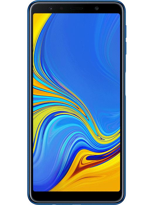 Galaxy A7 (2018) Blå