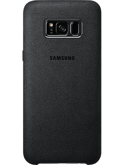 Samsung Alcantara deksel for Galaxy S8+