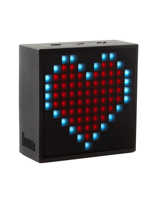 Divboom Timebox Mini LED Speaker