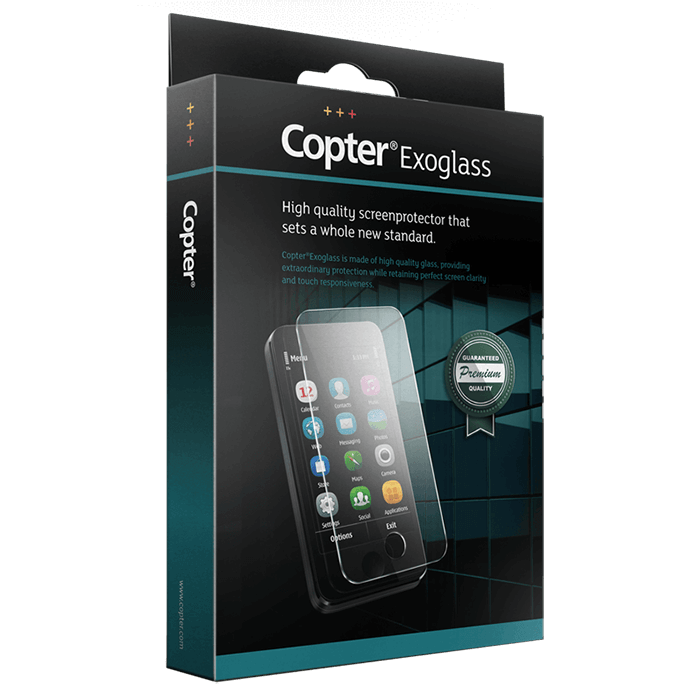 Copter Exoglass Curved iPhone X-Xs