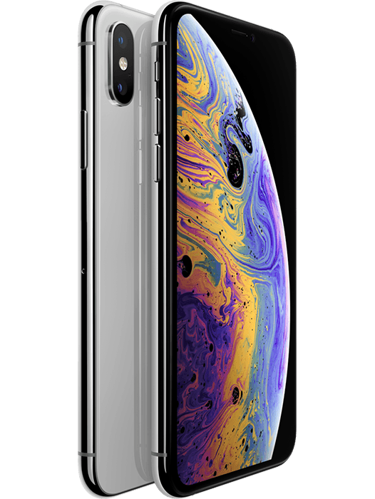 iPhone Xs 64 GB Sølv