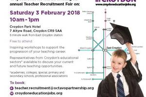 Croydon teacher event 3 Feb