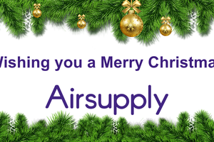 Merry Christmas from the Airsupply team!