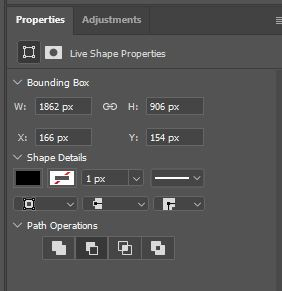 Property Box in Photoshop showing Inverse buttton
