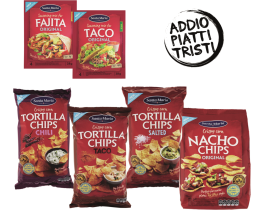 Coupon Sconto di SANTA MARIA TORTILLA CHIPS E MIX SPEZIE