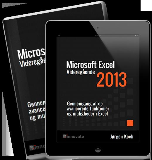 Microsoft Excel 2013 Videregående e-bog