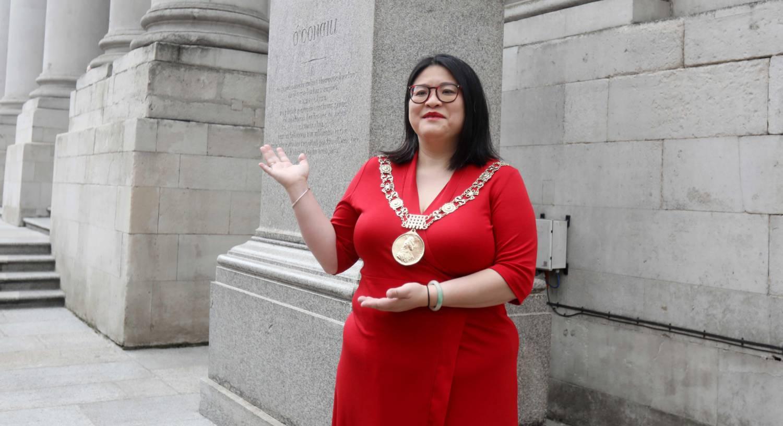 Lord Mayor of Dublin Hazel Chu at The O