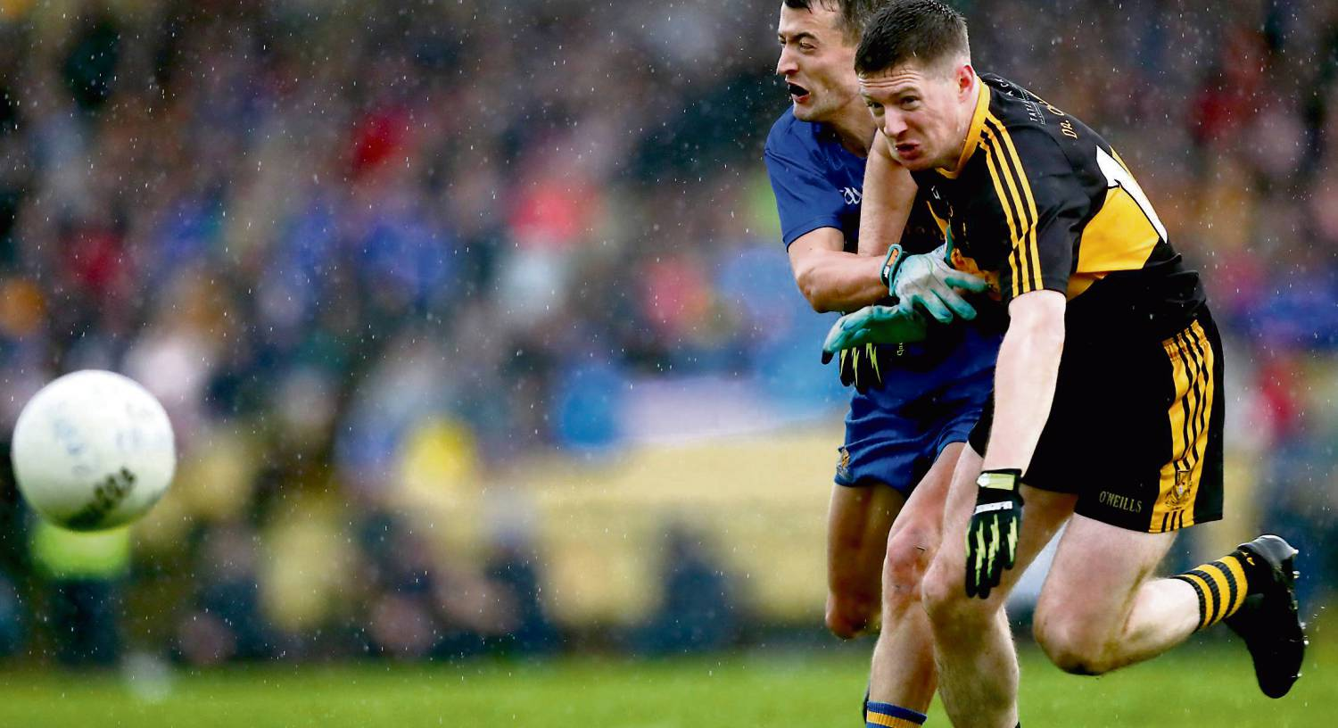 Priorities change fast for Kerry's Kieran O'Leary