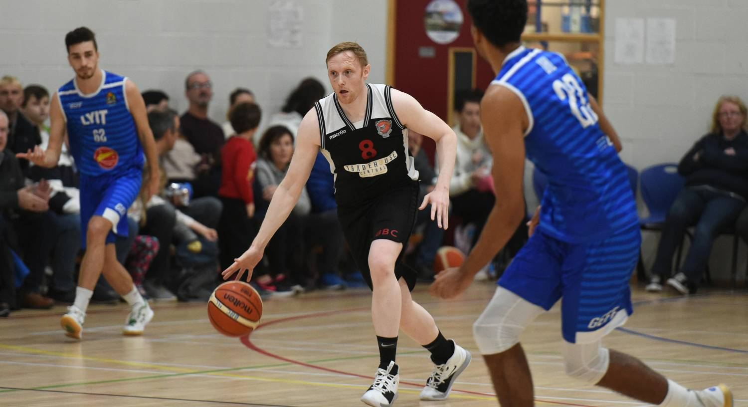 Ballincollig star Ian McLoughlin gets out while he's still ahead of most