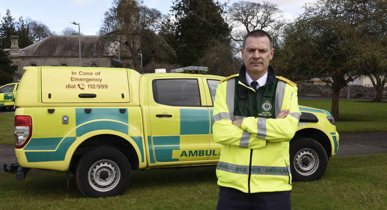 Frontline ambulance: Advanced paramedic on collecting samples for Covid-19 tests