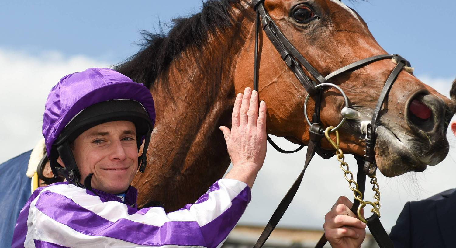 Magical with jockey Ryan Moore after winning the 2019 Tattersalls Gold Cup at The Curragh. Photo by Barry Cregg/Sportsfile