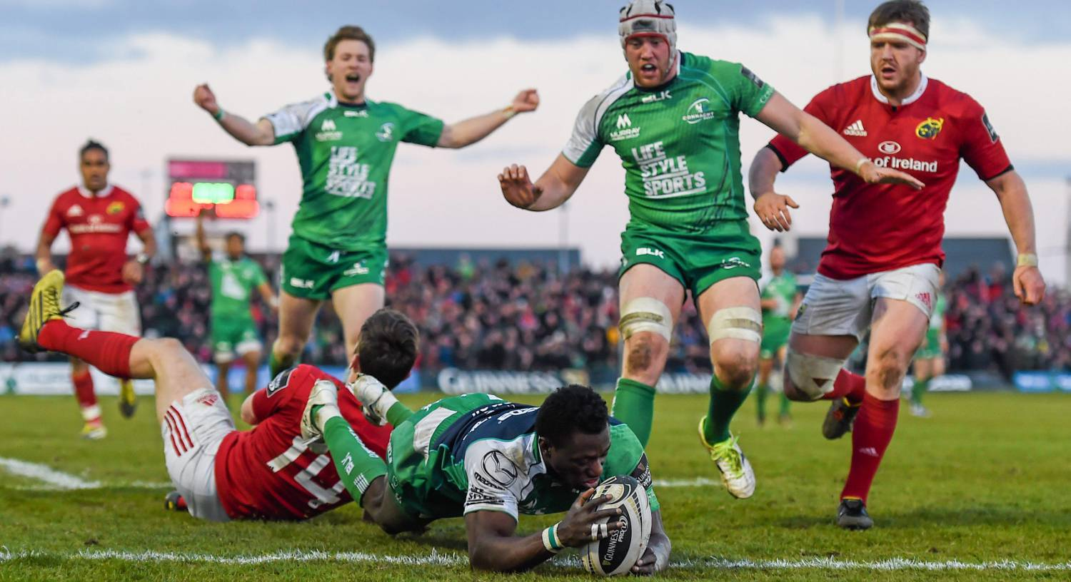 Niyi Adeolokun and Eoin McKeon among 12 players to exit Connacht