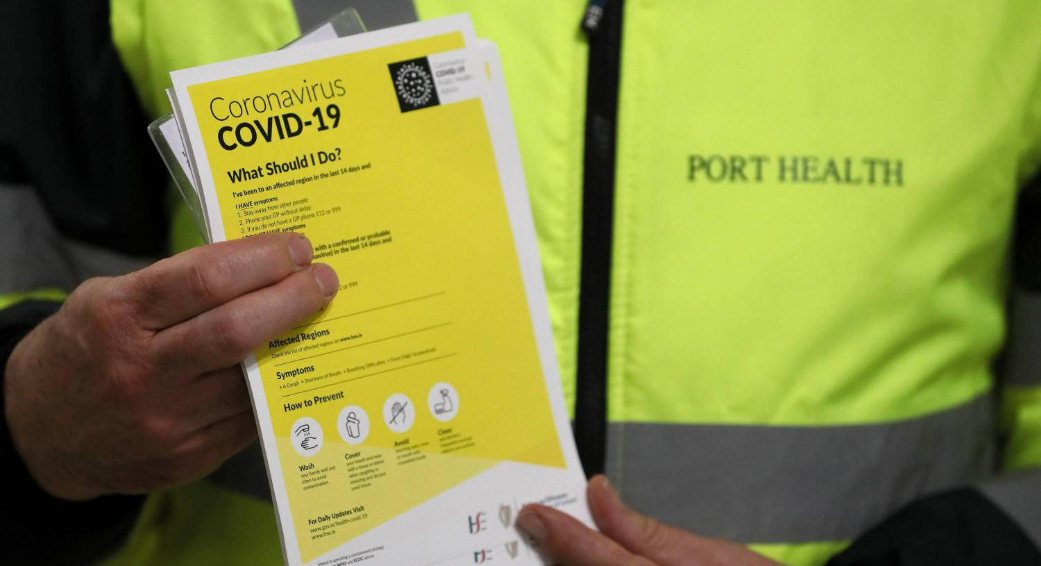Dublin the worst hit by Covid-19, figures show
