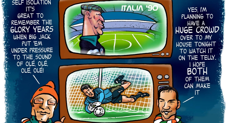 Larry Ryan: Ole Ole Ole - We'll need that Italia '90 spirit now
