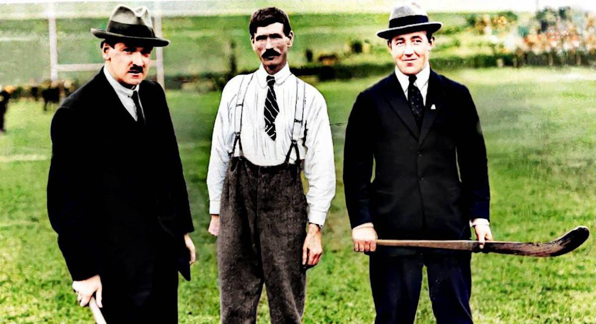Michael Collins brought back to colour after image restoration project