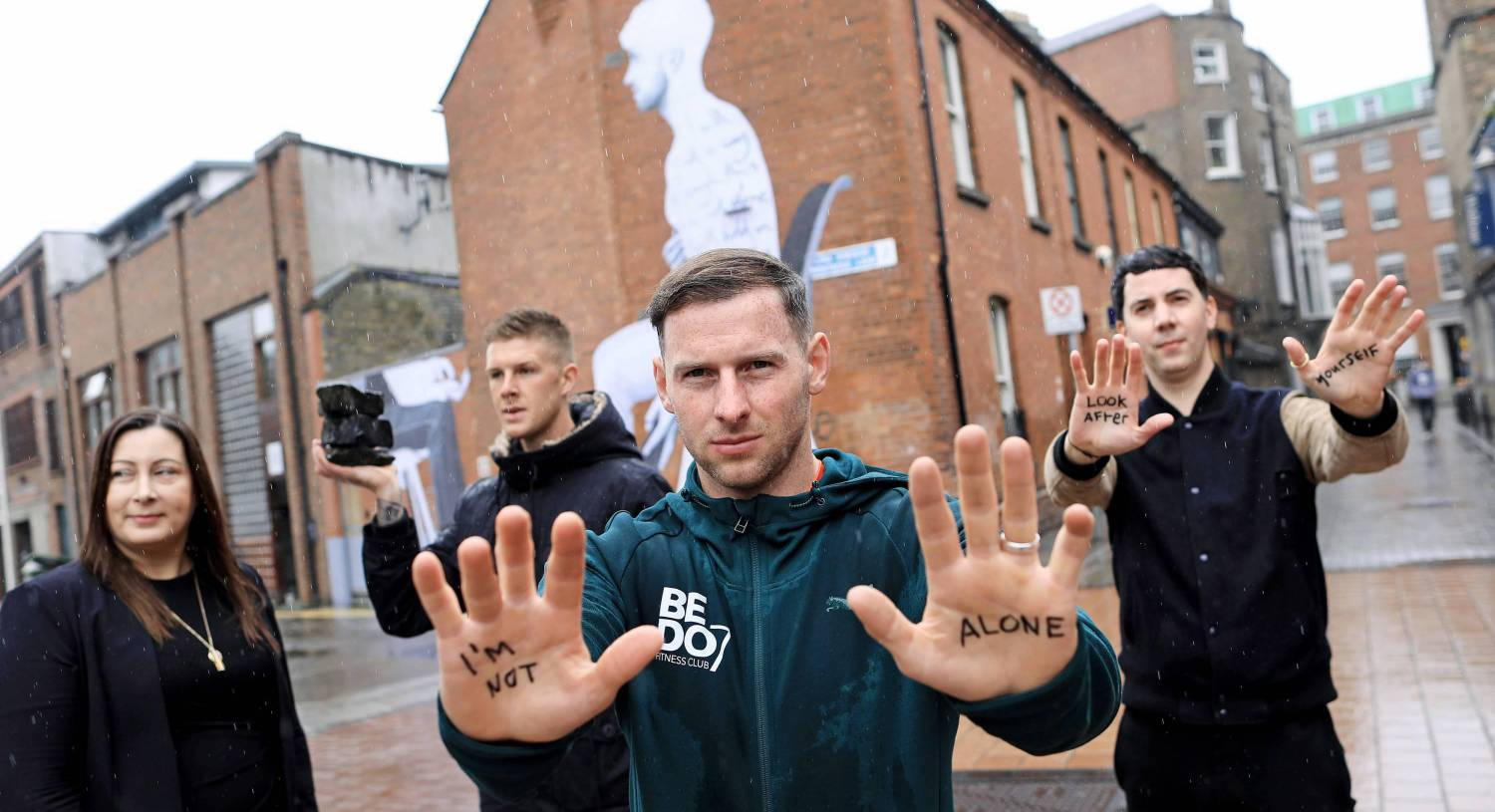 "The ""Look After Yourself""campaign from The Irish Association of Counsellors aims to encourage men aged 25-34 to seek therapy as a normal treatment practise. Picture: Julien Behal"
