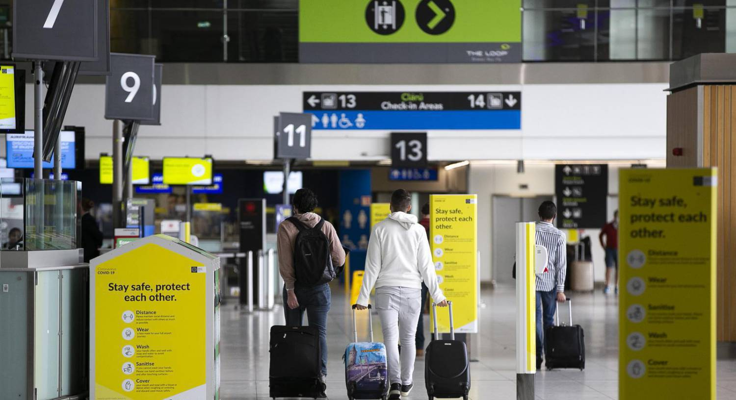 Restrictions on international travel could be in place until July 20