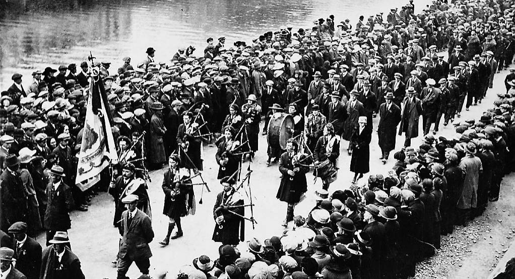 How the funeral of Tomás MacCurtain was reported in the Irish Examiner on March 21, 1920