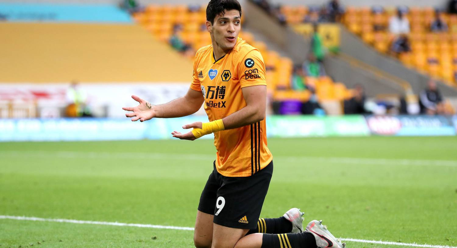 Raul Jimenez has scored 24 times in all competitions this season to fire Wolves into sixth in the Premier League. Picture: Catherine Ivill/NMC Pool/PA Wire