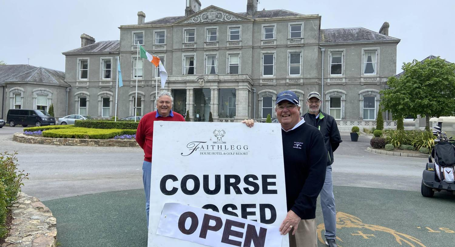 Golfers return to the fairways as courses reopen