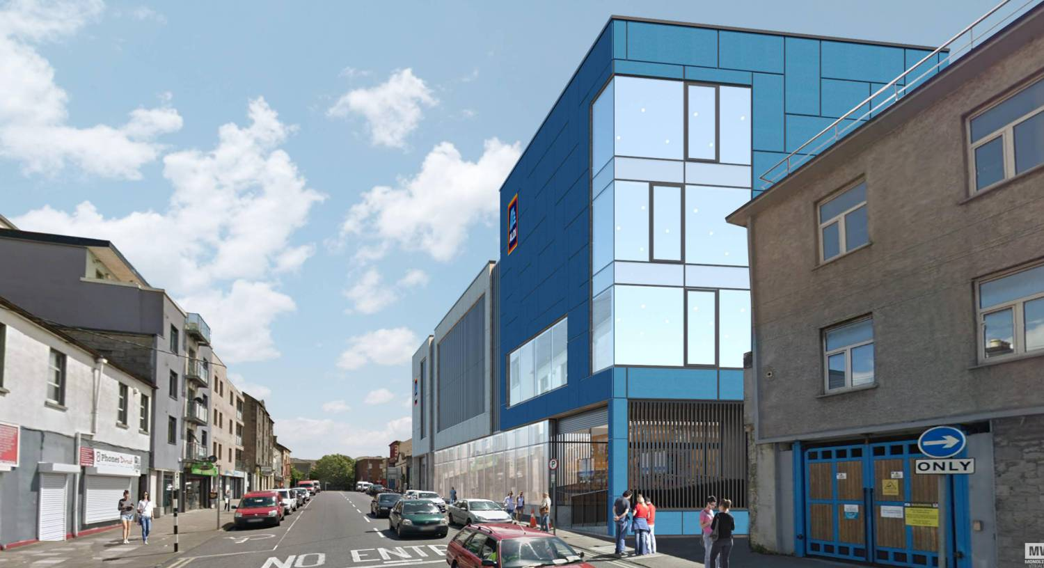 aldi limerick : Aldi has submitted a planning application for its Project Fresh store format on Roches Street as part of its €160m Irish store network investment programme.